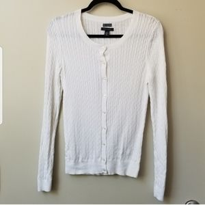 NWOT Tommy Hilfiger Cable Knit Cardigan